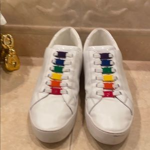 Michael Kors leather Rainbow sneaker